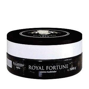 Pomada Creme Modelador Royal Fortune - El Capitán 1963 - 100g