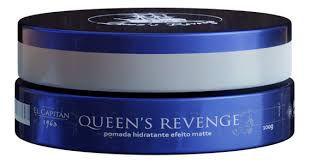 Pomada Modeladora El Capitán 1963 - Queens Revenge Efeito Matte (100g)