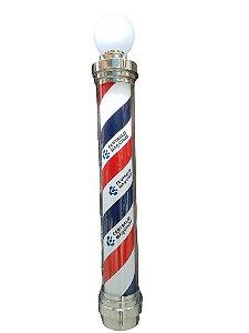 Barber Pole Gigante Personalizado com Logomarca (110v ou 220v)