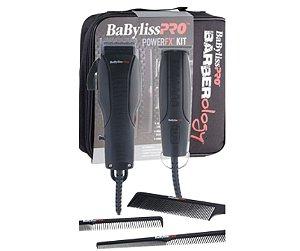 Combo Babyliss Pro PowerFX Barberology - Máquina de Corte e Máquina de Acabamento