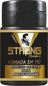 Pomada em Pó Strong Barber - Extra Forte - Efeito Matte (5g)