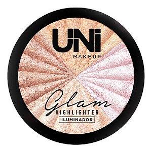 Iluminador Glam Efeito Radiante - Uni Makeup