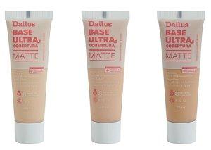 Base Líquida Ultra Cobertura Matte – Dailus