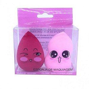 Kit de Esponja para Maquiagem - SD6186