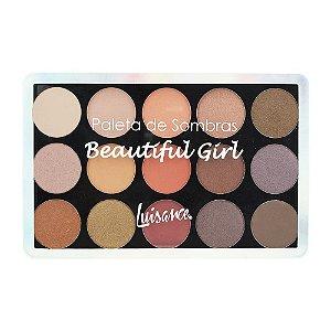 Paleta de Sombras Beautiful Girl - L7101 - Luisance