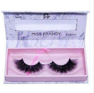 Cílios Postiços Mink 6D - C18-0405 - Miss Frandy