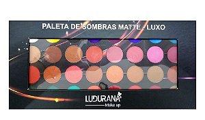 Paleta de Sombras 32 Cores - Luxo - M00040 - Ludurana