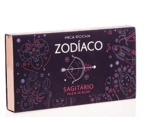 Paleta de Blush Let's Go - Zodíaco - Sagitário - By Mica Rocha - TB Make