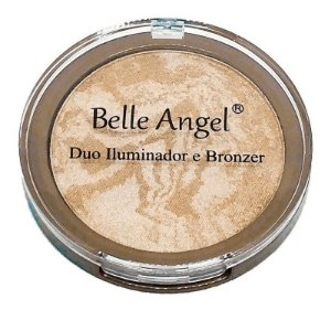 Duo Iluminador e Bronzer - B025 - Belle Angel