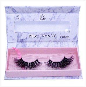 Cílios Postiços Mink 6D - C18-0402 - Miss Frandy