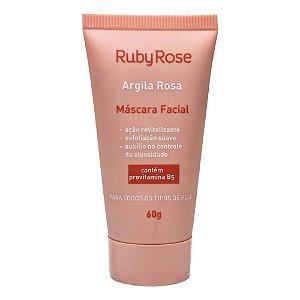 Máscara Facial Argila Rosa - HB-404 - Ruby Rose