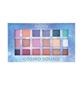 Paleta de Sombras 18 Cores - Cosmo Sound - HB-1060 - Ruby Rose