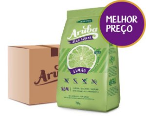 Aruba Zero - Limão - Cx. 24 pacotes
