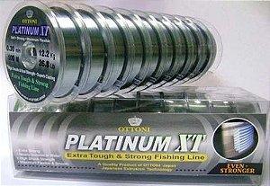 Linha Monofilamento Platinum XT - 0,40mm - 100m Unidade