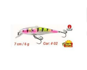 Isca Artificial Sun Fishing Cardume Pevinha