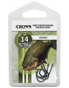 Anzol Koiso Crown Com 10 Unidades