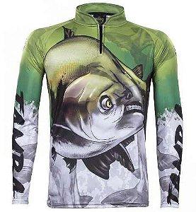 Camiseta De Pesca Manga Longa Atack 05 Tamba King Brasil fe040e4e10ffb