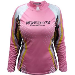 Camiseta de Pesca Monster 3X New Fish Feminina
