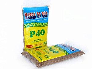 Massa Da Boa P40 Pct 500 Gramas