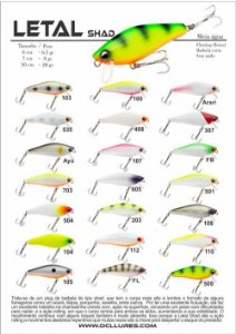 Isca Artificial OCL Lures Letal Shad 70