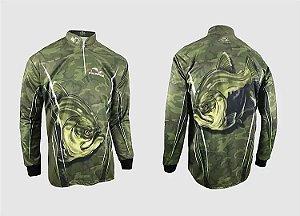 Camiseta De Pesca Faca Na Rede Combat Cs20 Tambaqui