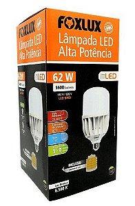 LAMPADA LED ALTO FATOR 62W FOXLUX