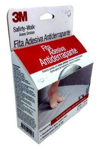 FITA ANTIDERRAPANTE PARA BANHEIROS TRANSPARENTE SAFETY WALK 50MMX5M