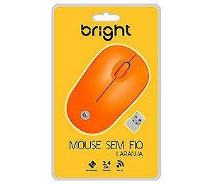 INFORMATICA MOUSE SEM FIO BR USB BRIGHT 0473