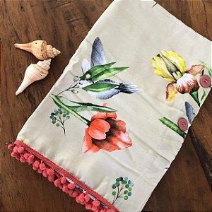 Canga Saia - Beija flor