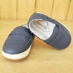 Sapato Menino Nautico Azul Marinho