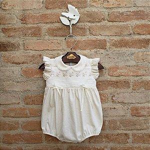 Pimpão Bebê Margarida Off White