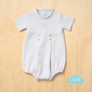 Pimpão Bebê Cavalinho Azul Bebê