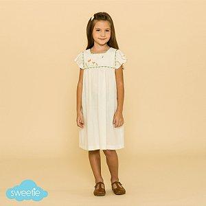 Vestido Infantil Roma Linho DEF