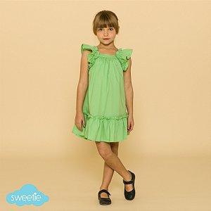 Vestido Bolonha Verde Menta