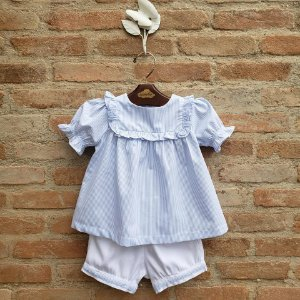 Conjunto Lucca Azul Bebê