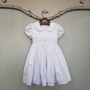 Vestido Bordado Chanel Branco