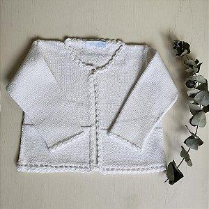 Casaco de Tricot Elisa Branco