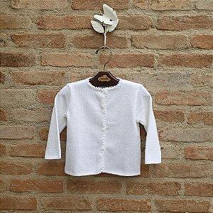 Casaco de Tricot Branco