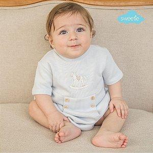 Pimpão Cavalinho Azul Bebê