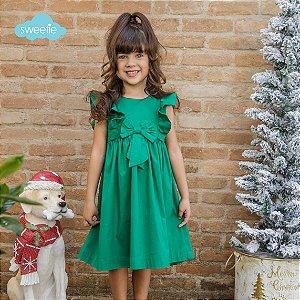 Vestido Peonia Verde