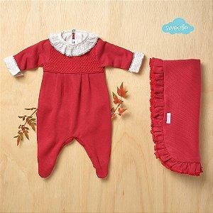 Kit Sweetie Maternidade Friso Vermelho