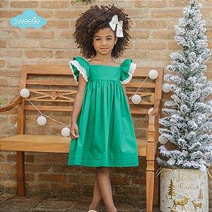 Vestido Geranio Verde