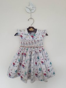 Vestido Casinha de Abelha Bird Girl