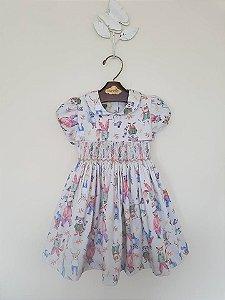 Vestido Casinha de Abelha Castor Girl