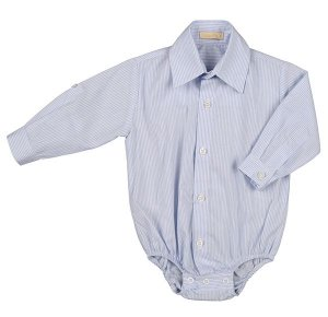 Camisa Body Azul Bebe