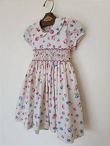 Vestido Casinha de Abelha Flor Girl