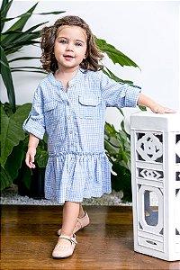 Vestido Xadrez Irene Filha