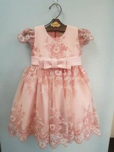 Vestido Festa Rose Girl