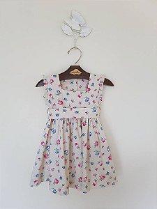 Vestido Baby flowers