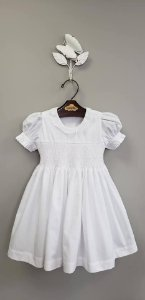 Vestido bordado Renda Renascenca Branco